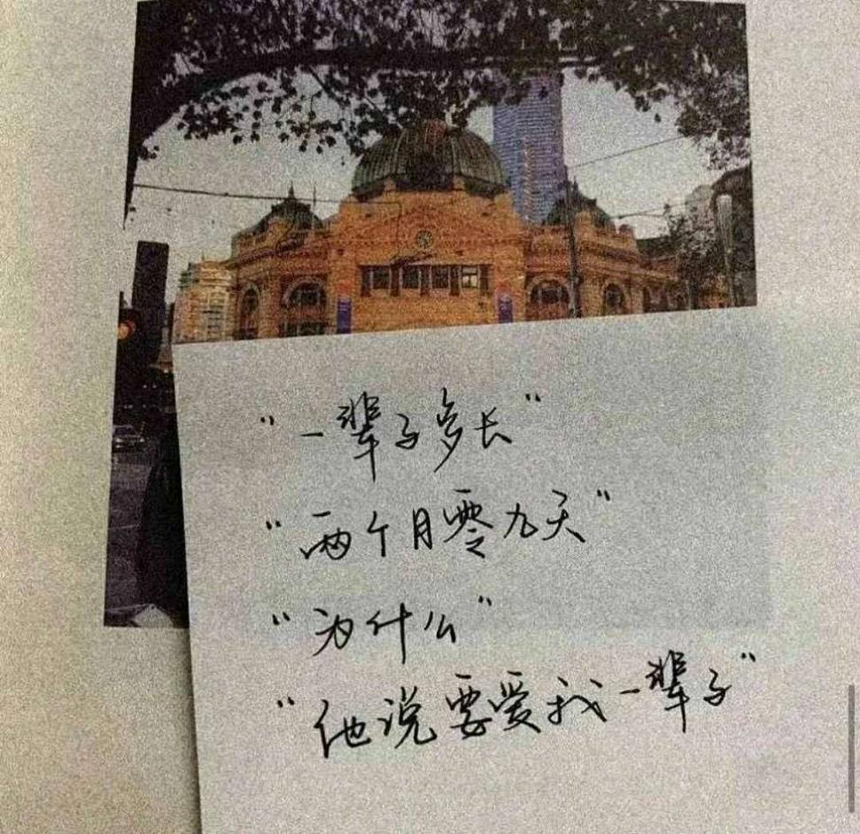 爱情句子青丝_伤感说说图片加文字_2